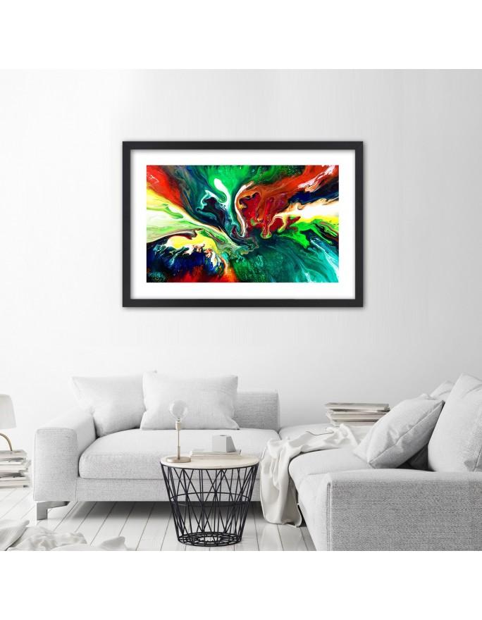 Wieszak ozdobny – żabka na liściu, Deco Panel