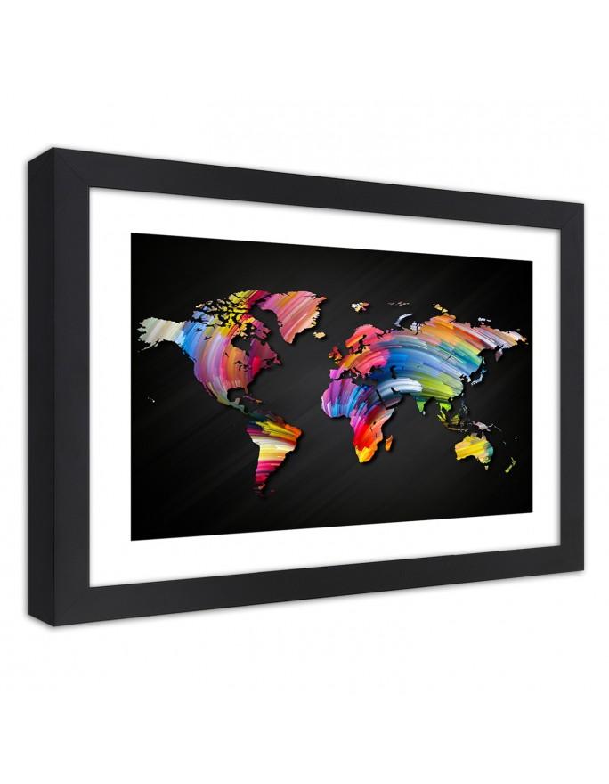 Wianek z jodły, Parawan pokojowy dwustronny obrotowy 360°  na płótnie - Canvas