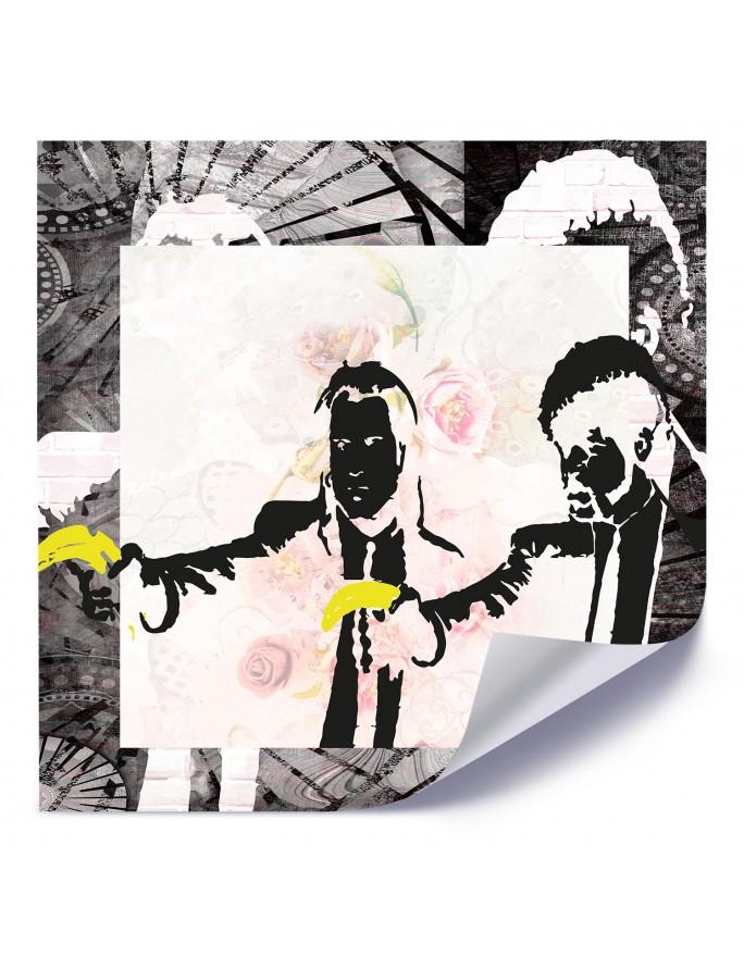 Dmuchawiec i rosa, Obraz na płótnie - Canvas
