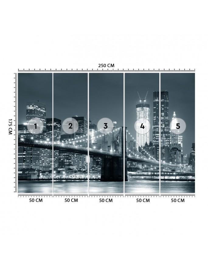 Praski zegar astronomiczny, Parawan pokojowy jednostronny na płótnie - Canvas