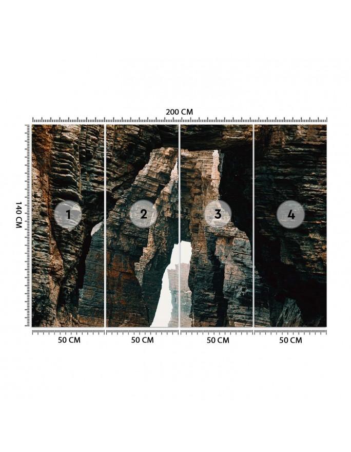 Zegar na stacji kolejowej, Obraz na płótnie - Canvas