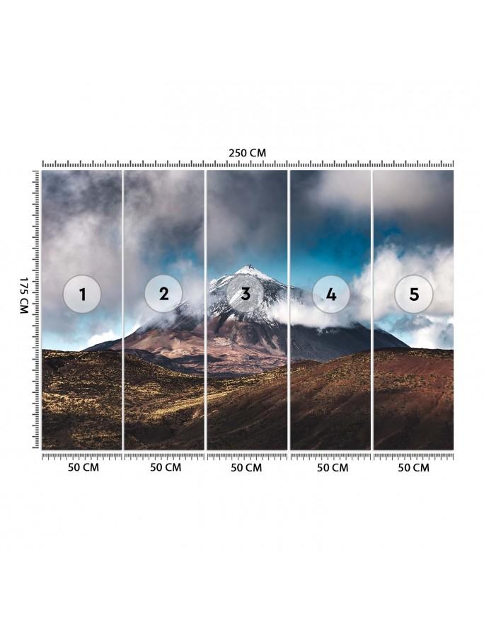 Praski zegar astronomiczny, Parawan pokojowy dwustronny na płótnie - Canvas