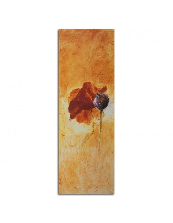 Kamienie zen i storczyk, Parawan pokojowy na płótnie - Canvas