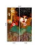 Maki 2, Parawan pokojowy na płótnie - Canvas