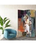 Kamyki, Parawan pokojowy na płótnie - Canvas
