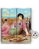 Anioły, Parawan pokojowy na płótnie - Canvas