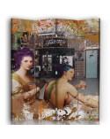 Zen 3, Parawan pokojowy na płótnie - Canvas