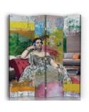 Zen, Parawan pokojowy na płótnie - Canvas