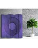 Wzór kwiatowy 2, Parawan pokojowy na płótnie - Canvas
