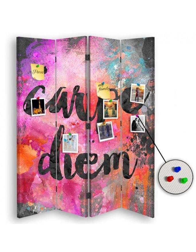 Niebo pełne kolorów, Parawan pokojowy na płótnie - Canvas
