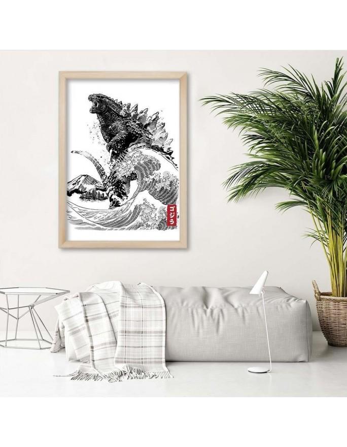 Reprodukcja obrazu Caravaggia – Pokłon pasterzy, Obrazy w ramie Canada