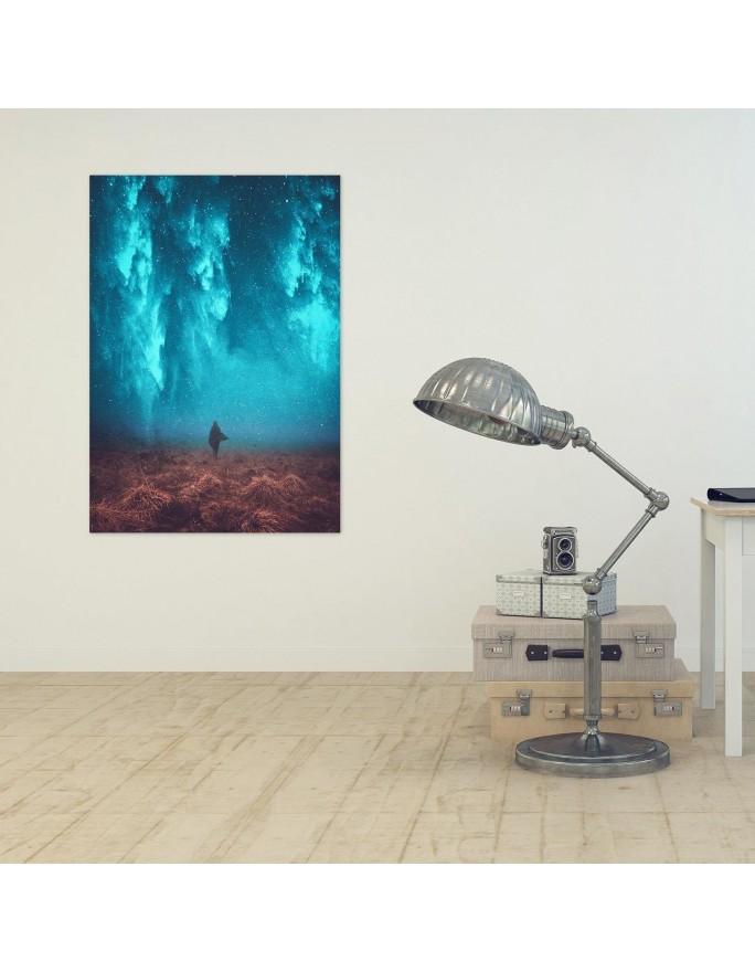 Drzewa zielone, Obraz na płótnie - Canvas