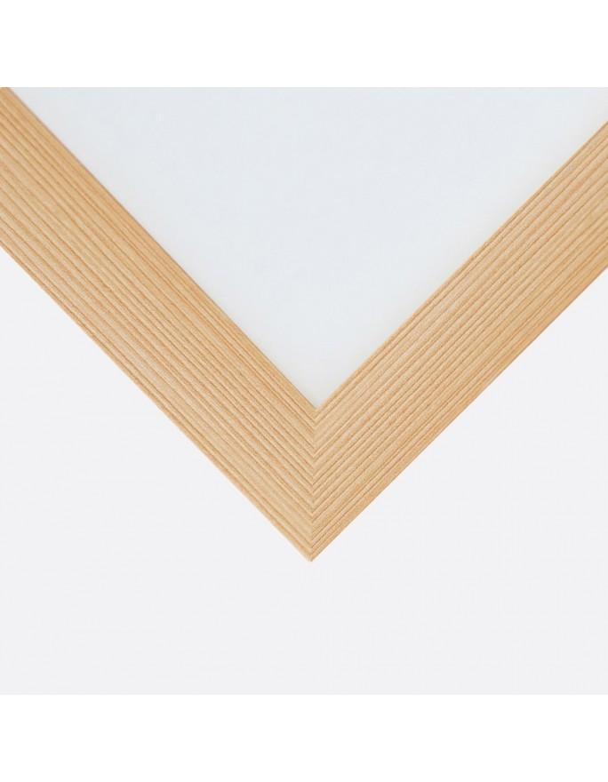 Abstrakcja strukturalna 4, Obraz na płótnie - panorama Canvas