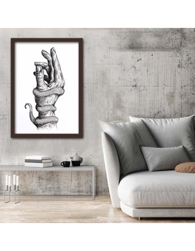 Róże 2 R. Kulik, Parawan pokojowy na płótnie - Canvas