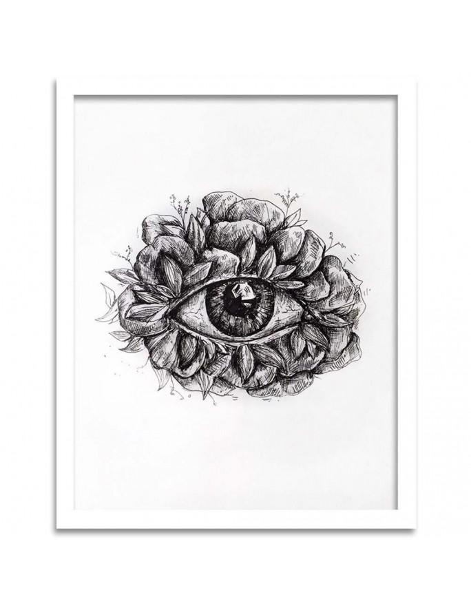 Róże 3 R. Kulik, Parawan pokojowy na płótnie - Canvas
