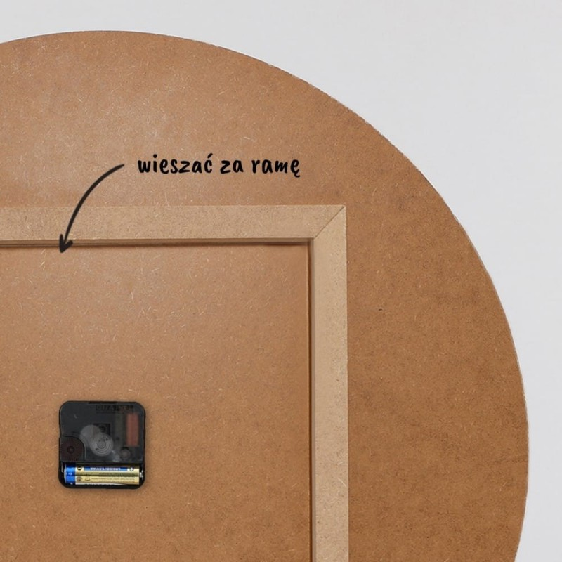 Multirama MDF plus szablon, Galeria ram nr 1 - Czarna (okleinowana)