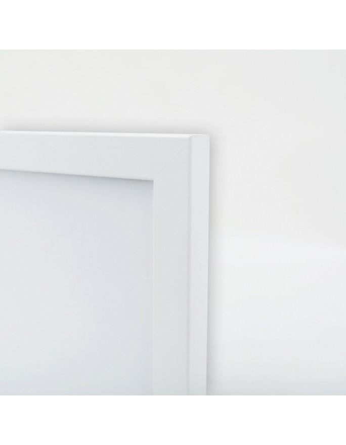 Białe kwiaty, Parawan pokojowy na płótnie - Canvas