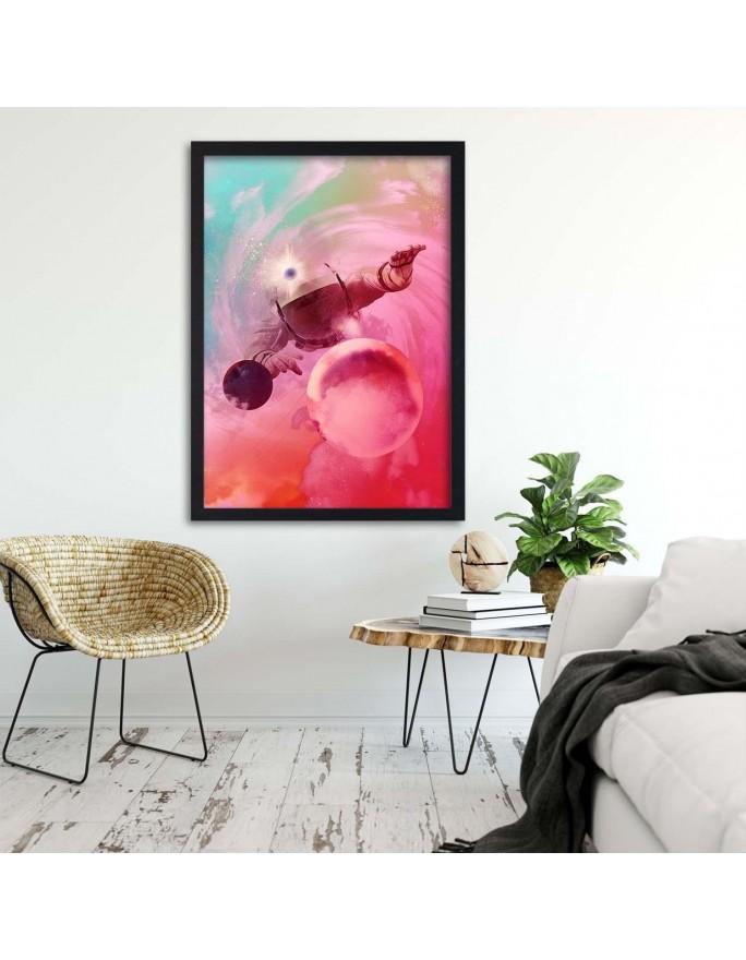 Sztuka abstrakcyjna, Parawan pokojowy na płótnie - Canvas