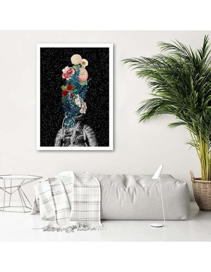 Abstrakcja 69, Obraz na płótnie - Canvas
