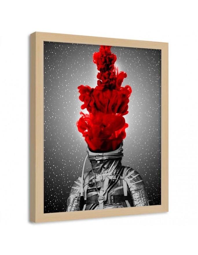 Abstrakcja 75, Obraz na płótnie - Canvas
