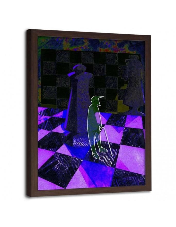 Tuba gramofonu, Parawan pokojowy na płótnie - Canvas