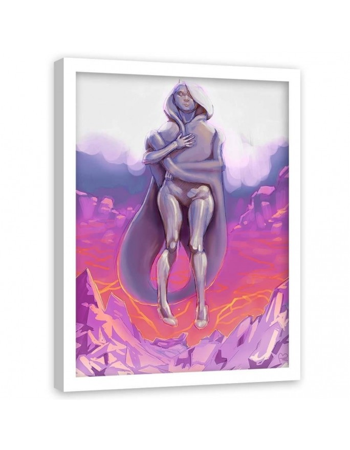 Kamienica, Parawan pokojowy na płótnie - Canvas