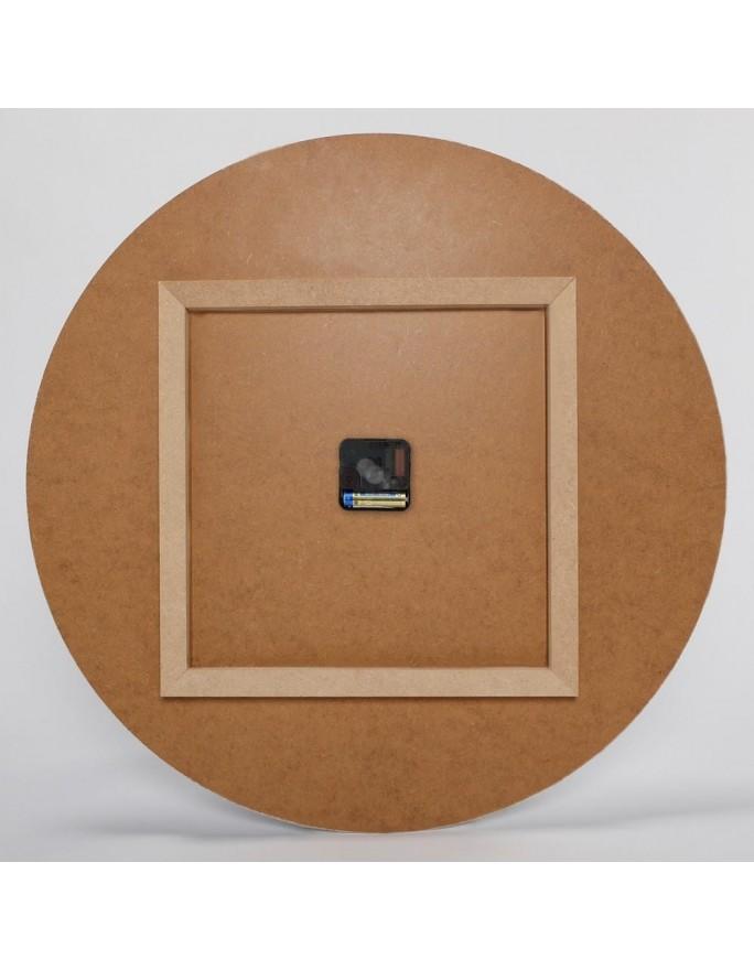 Drewniana multirama plus szablon, Galeria ram nr 10-2 - Botanic Brązowy