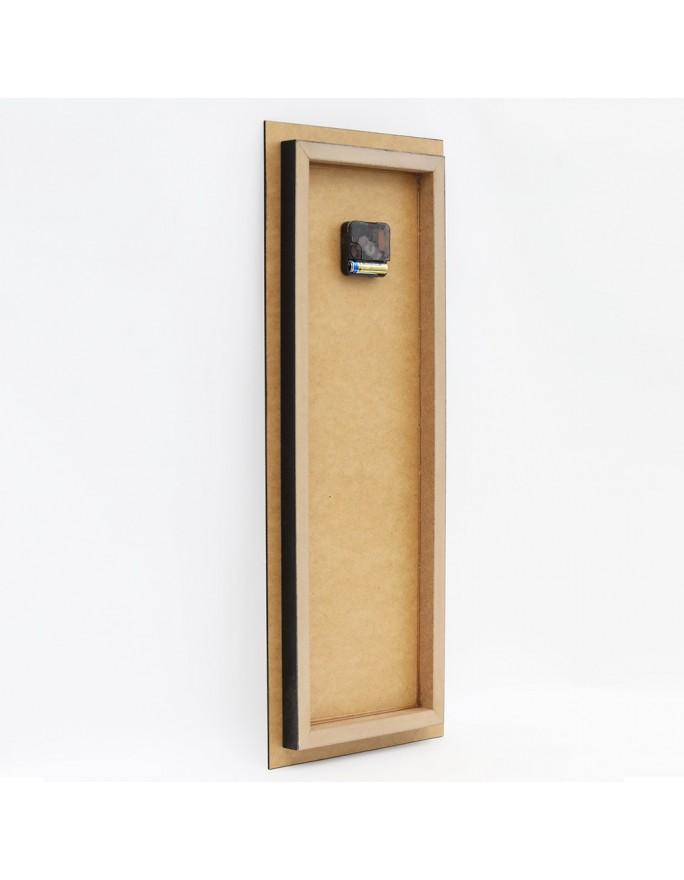Drewniana multirama plus szablon, Galeria ram nr 12-2A - Canada Brązowy