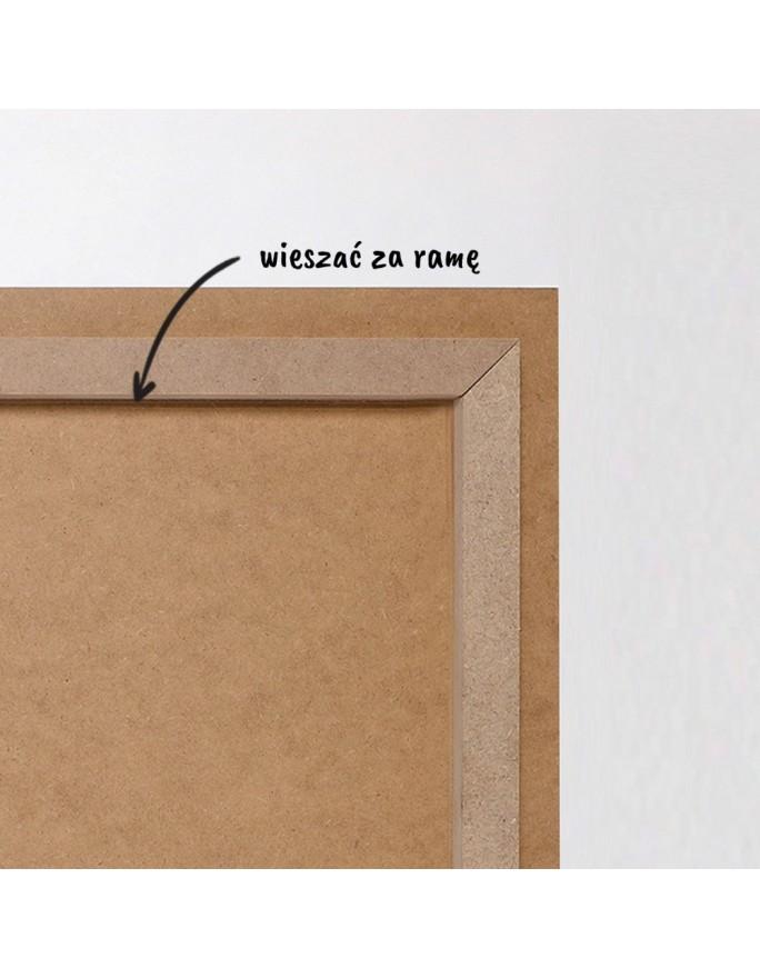 """""""Pejzaż o wschodzie"""". 30x61 cm. Zygmunt Miedziński."""