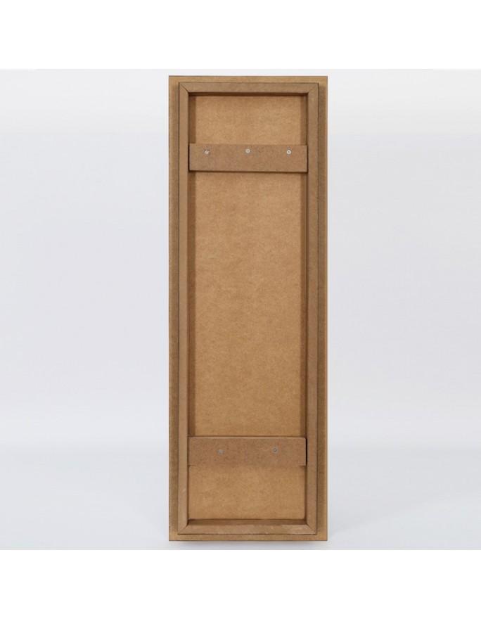 """""""Poetyczne deskowanie"""". 29x58 cm. Zygmunt Miedziński."""